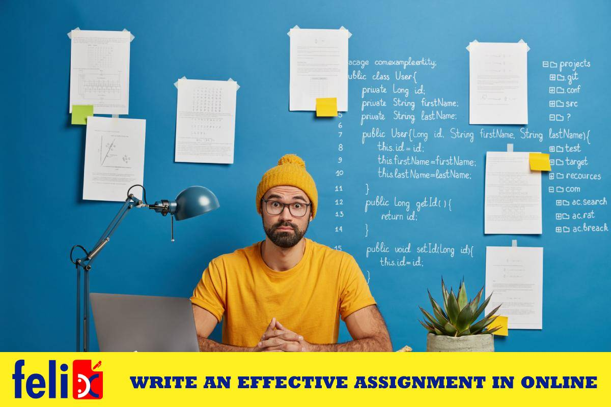 Write an effective assignment in online