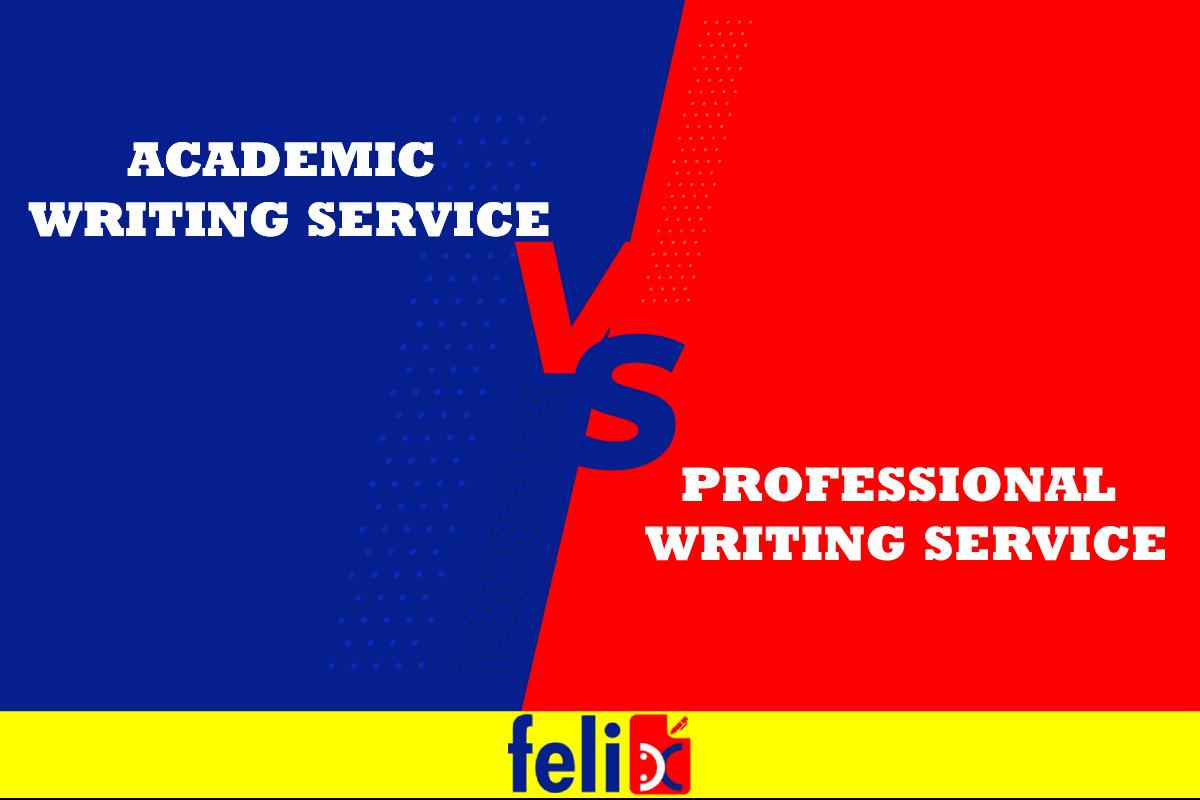 Academic vs Professional writing service